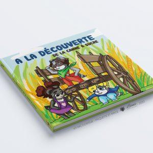 """Livre """"À la découverte de la canne à sucre"""" - Ti Racoonteur"""