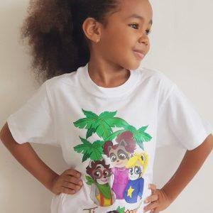 Tee-shirt Ti Racoonteur - taille enfant
